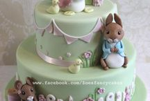 Baby and Christening Cakes