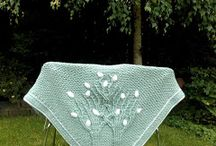 Crochet Shawls / Crocheted shawls in all shapes and sizes...