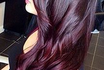 hair color...
