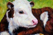 J'adore les vaches