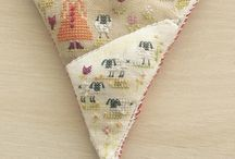 Mes ouvrages terminés / Broderie Couture patchwork