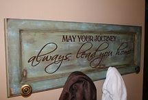 Cabinet Door repurpose