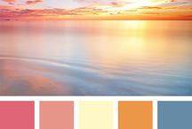 Colour Inspiration / Colour palettes for the house