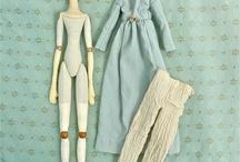 Кукла Лиза / Куклы текстильные, полимерные, костюмы для кукол