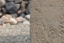 Detalles - Muros | Details - Walls / Texturas. Hormigón. Hidrolavado. Piedras.