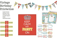 Arts/Crafts/Colors & Ideas Birthday Party & Free Printables