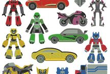 Robot Inspirations (clipart, craft, and more) / Robot Inspirations (clipart, craft, and more)