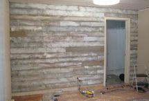 White washing wood