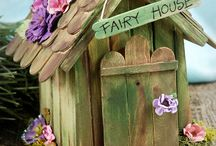 DIY......fairy houses ...