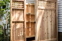 Outdoor shower how-to