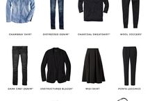 capsule wardrobe / clothes