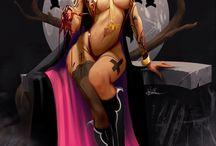 Vampirella / by John Rigsby