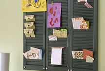 Organizing: Displaying Cards / Ideas for neatly displaying greeting cards, announcements, invitations, etc.