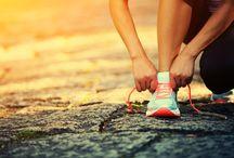 El correr y felicidad