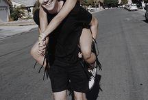 Cute David and Liza