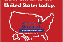 Driver Appreciation / National Van Lines recognizes our drivers for their outstanding service and commitment to safely moving memories across the United States. Help us celebrate our drivers during Drivers Appreciation Week