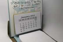 Easel calendars