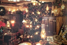 my kind of christmas / vintage, country, primitive, warm