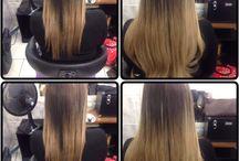 Mega Hair / Antes e depois
