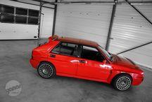 Lancia Delta Integrale EVO / Rally Car Lancia Delta Integrale 4x4 evo WRC