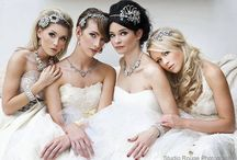 Dallas Bridal Hair Ideas / Wedding bridal hair updos and ideas for your hair on your big day! We love creating beautiful bridal hair at The Beauty Box Salon in Dallas.