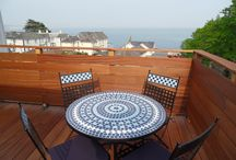 Cromwell Three Bed Luxury Holiday Apartment, Shanklin Villa / Details of the 5 star gold award three bed self catering holiday apartment in Shanklin Villa, Isle of Wight / by Garden Isle Hotels