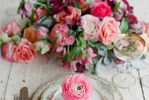 Wedding Reception Decor / Decorations and Styling ideas for the ceremony and reception