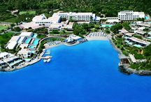 Crete - Elounda Bay Palace / Elounda Bay Palace is a very large comfortable hotel spread throughout 20 acres of gardens, with its own sandy beaches in a protected cove. 5* resort