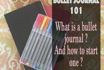 Bullet journaling ideas / Ideeën voor mijn eigen bullet journal