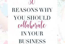collaborations / Collaborations are key to growing your business online and getting more eyes on your content. Here are the collaborations I've been fortunate enough to participate in and grow my business.