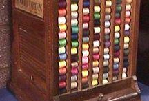 Thread cabinets