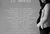 10 weeks; circumcision; burp cloths / by Taylor Crook
