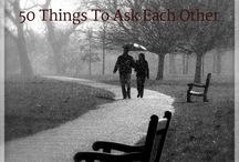 You and me / Ideas on improving my marriage
