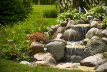 Pond less waterfall