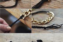 collar con cadena y cordon