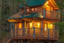 Tree houses, woodland houses, playhouses / Tree house, forest houses woodland houses playhouses
