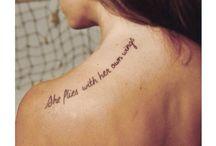 Words Tattoos