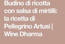 Budino di ricotta con salsa di mirtilli: la ricetta di Pellegrino Artusi | Wine Dharma