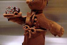 choklad skulpturer