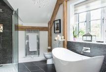 room and bathroom idea
