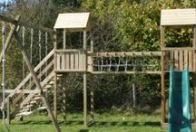 Action Climbing Frames / Action climbing frames provide a wide range of domestic climbing frames, with safety as a central feature. More details at www.wooden-climbing-frames.com