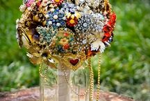 Love Brooch bouquet  / Love  / by NI