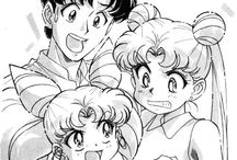 Mamoru,Usagi and Chibiusa