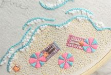 embroidery * broderie