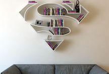 Dc n marvel comic concept furniture