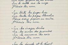 Poèmes et citations