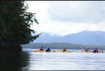 Kayaking beautifully / Kayaking