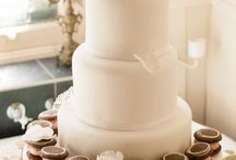 Weddings / Wedding Cakes and Biskies personalised by Cutter & Squidge to make the bride and groom all happy on their special date <3