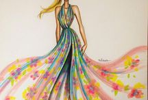 my fashion illustrations