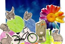 Happy Easter ! :) / Happy Easter - mood board / by BIKE WITH WERONIKA